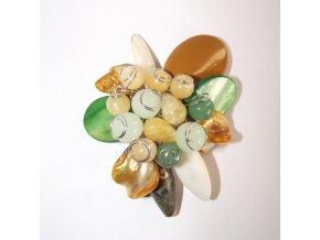 Prívesok z prírodných kameňov, bižutéria