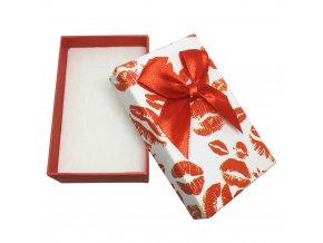 Darčekové balenie na sadu šperkov, bozky a mašľa